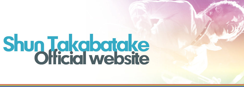 Shun Takabatake Official website